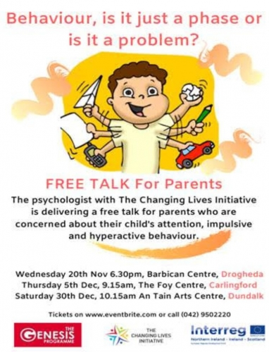 FREE talk for Parents